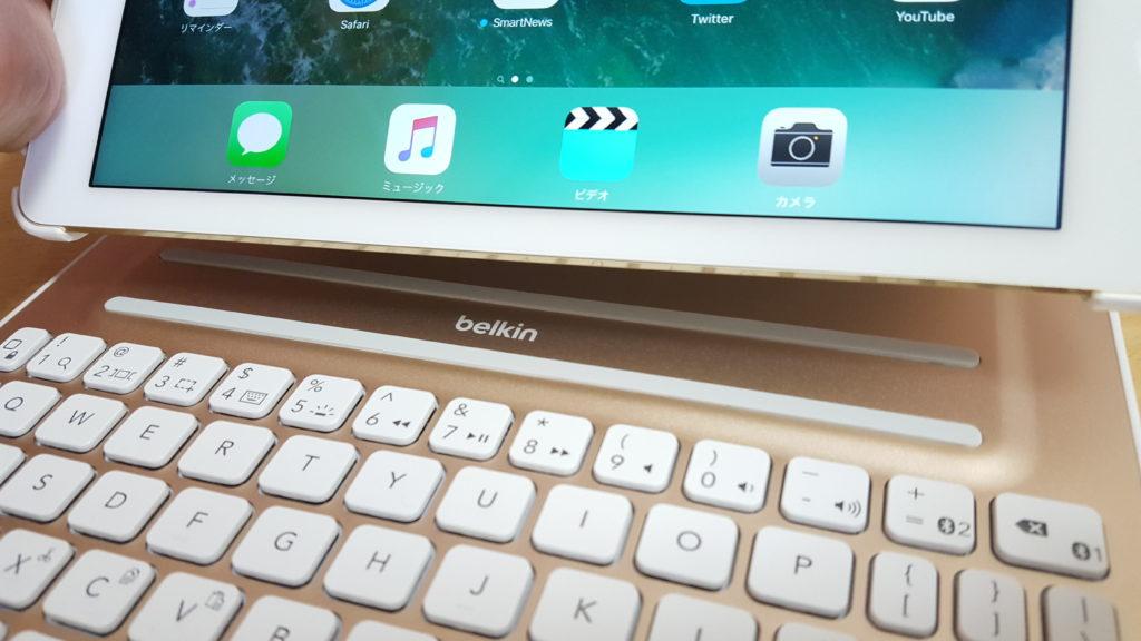 「belkin Ultimate キーボードケース」レビュー【後編】 これぞ、iPad Air 2 キーボード付きケースの決定版!