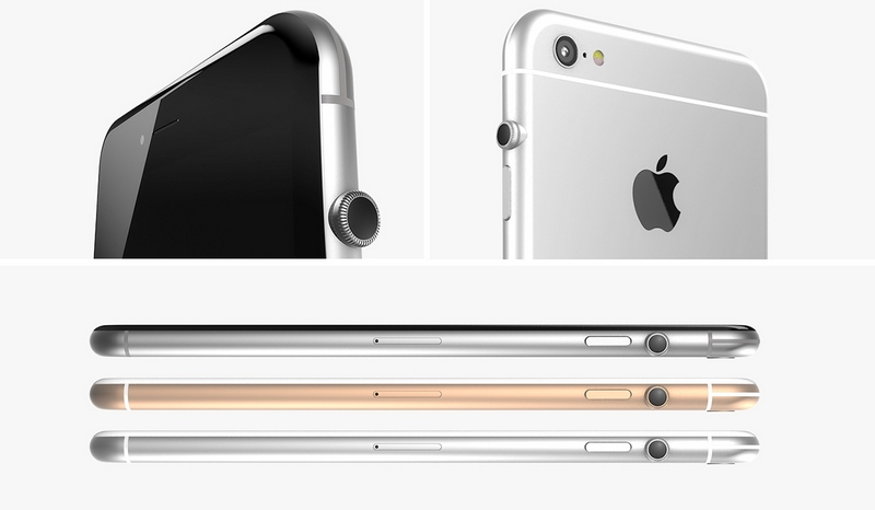 "Apple Watchでお馴染み、""デジタルクラウン""付きiPhone・iPadが発売される可能性?"