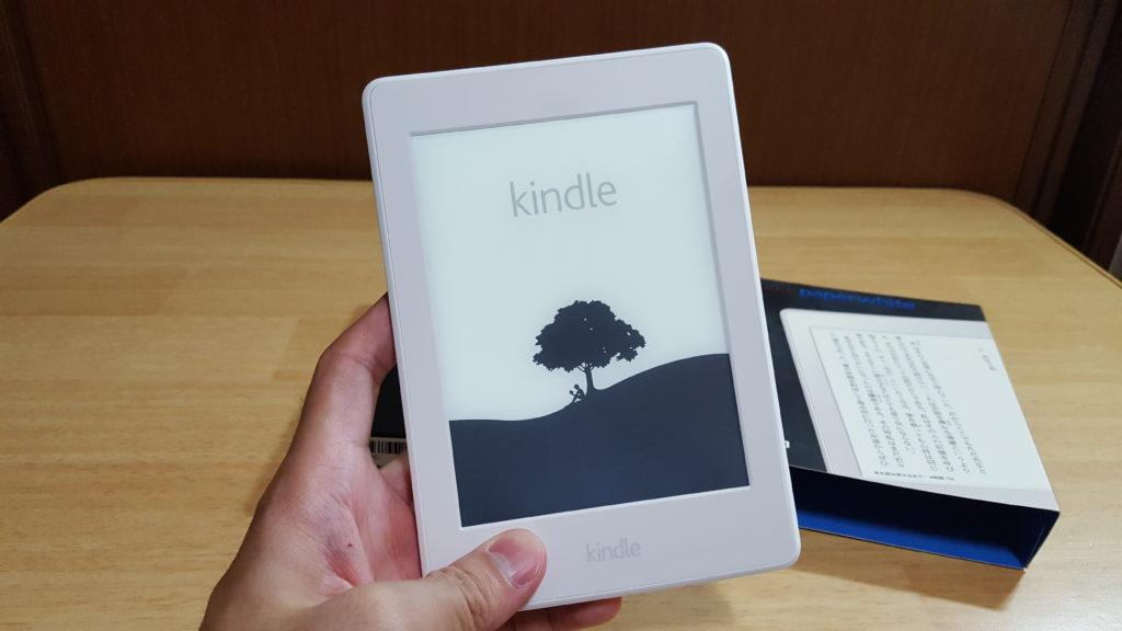 Amazon Primeセールにて、Kindle Paperwhiteのホワイトモデルを購入。白って、やっぱり美しい!