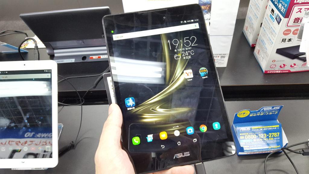ASUS「ZenPad 3 8.0」を触ってきた! 7.9インチの通話機能搭載SIMフリータブレット、どんな人にオススメなのか?