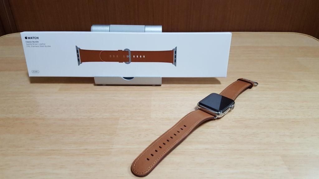 Apple Watchのクラシックバックルを購入しました!