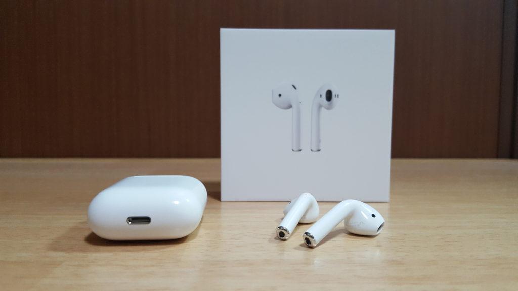 Appleのワイヤレスイヤホン「AirPods」が届いたので開封の儀!