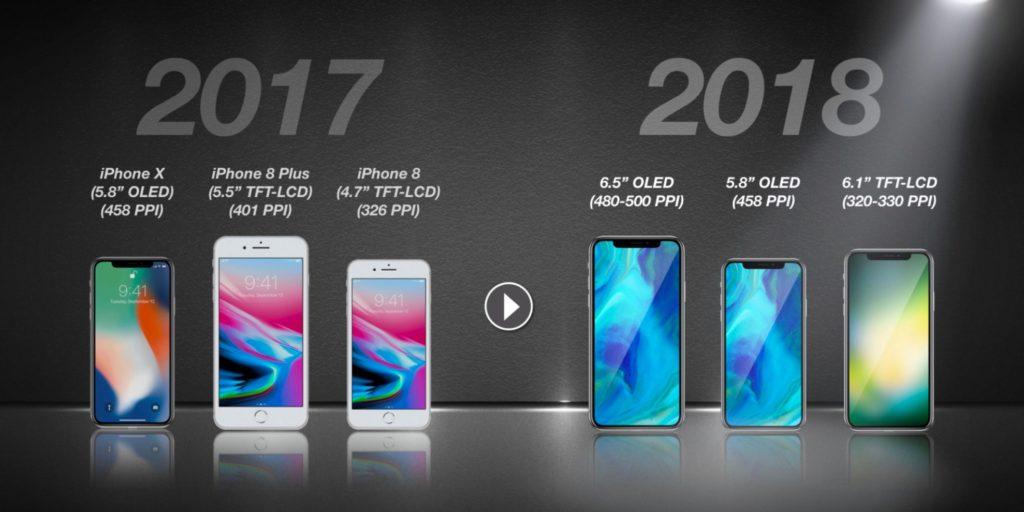 全モデルでホームボタン廃止&フルスクリーン採用? 2018年のiPhoneを考える。