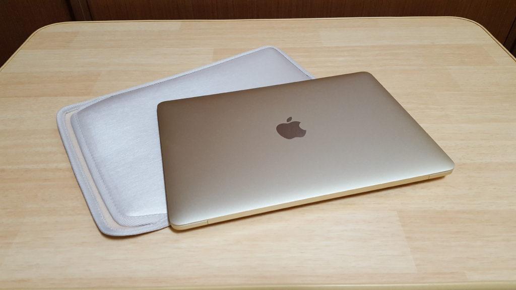 MacBook 12インチ用 スリップインケース
