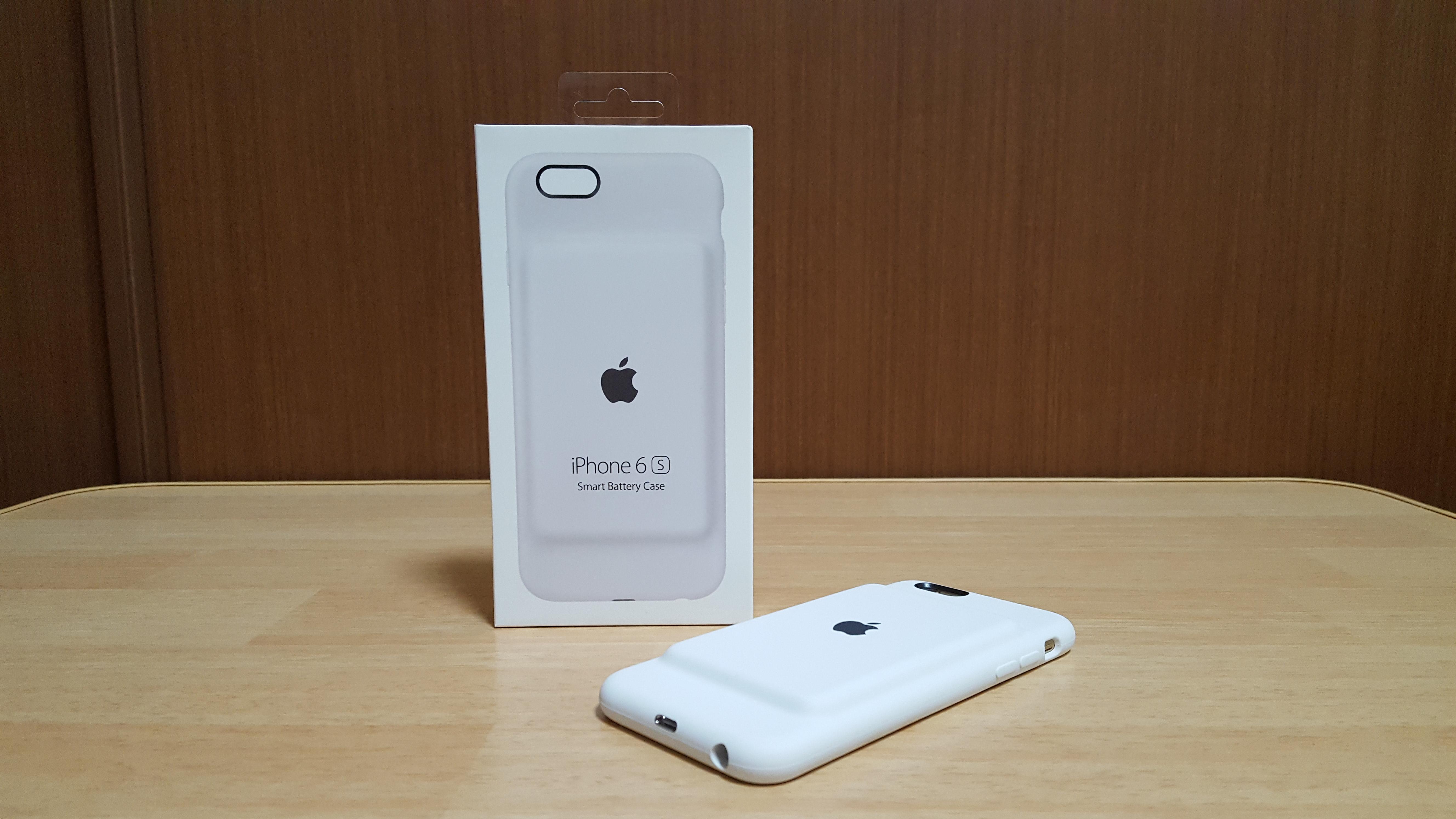 「iPhone 6s Smart Battery Case」購入。iPhone 6sのバッテリーライフを改善
