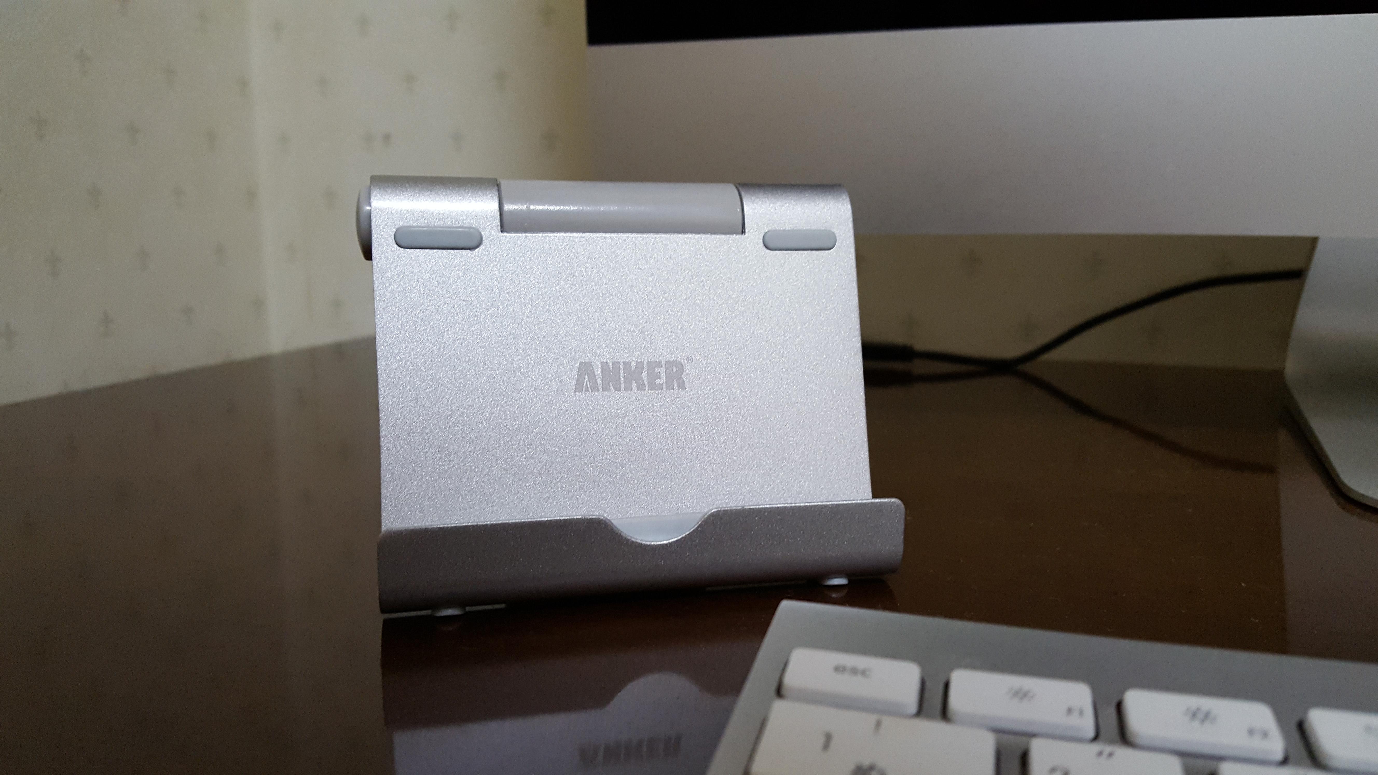 持っておいて絶対に損なし! Anker「タブレットスタンド」をレビュー!
