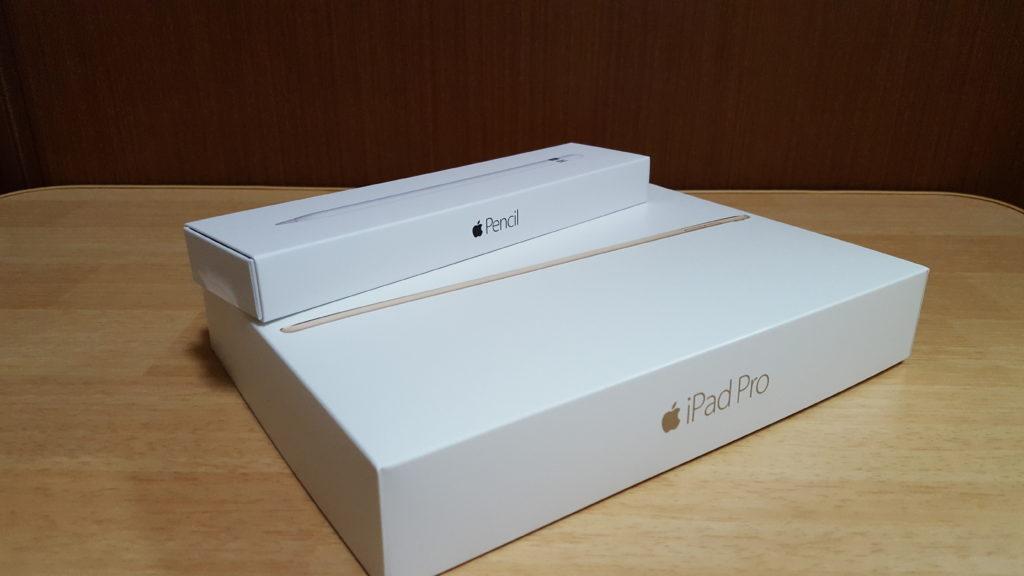 【ご報告】docomoで予約していたiPad Pro 9.7インチ 128GBモデルとApple Pencilが届きました。