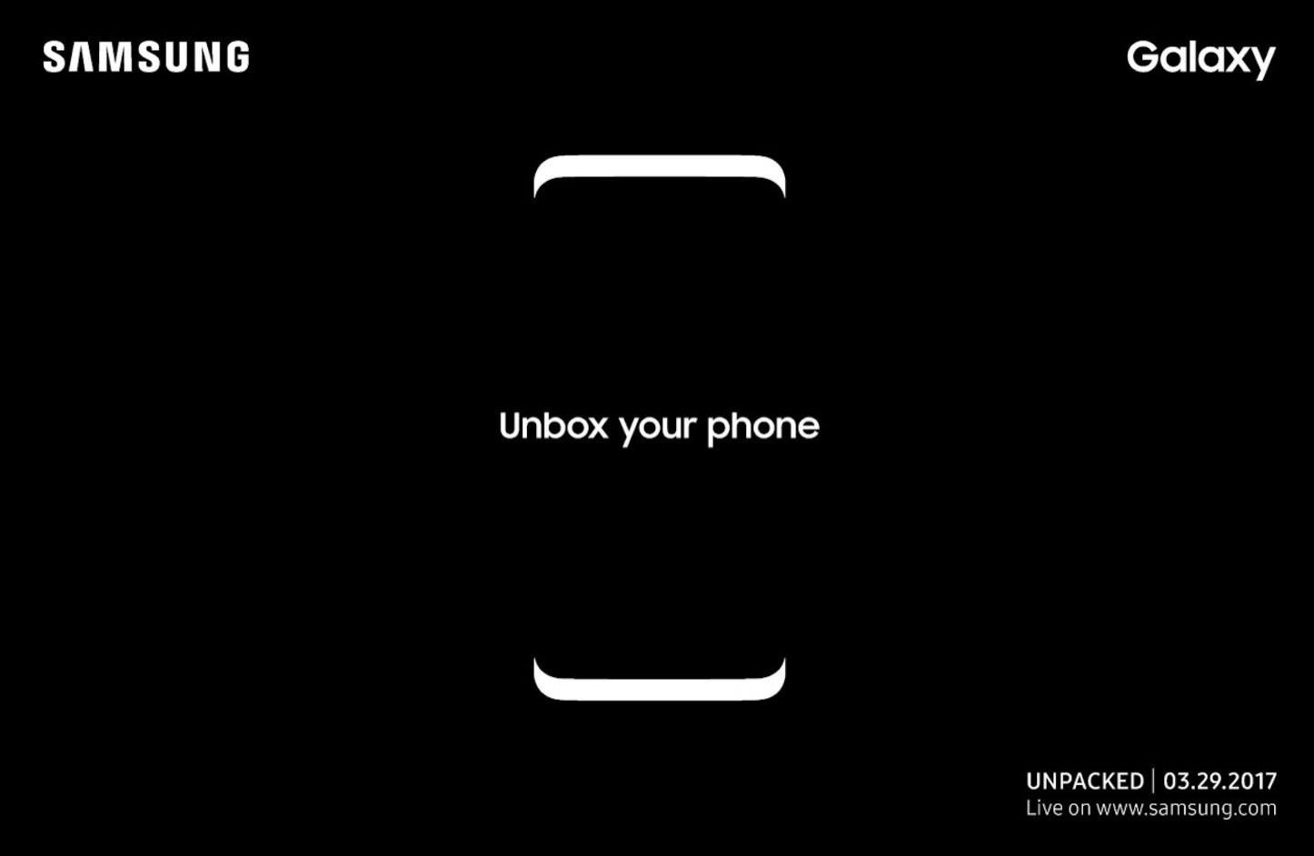 SAMSUNG、Galaxy S8を3/29開催の「Unpacked 2017」で正式発表へ!