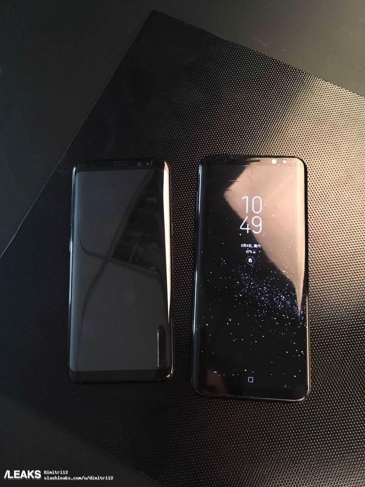 Galaxy S8とS8+を並べた画像がリーク! 美しすぎて購入検討必至。