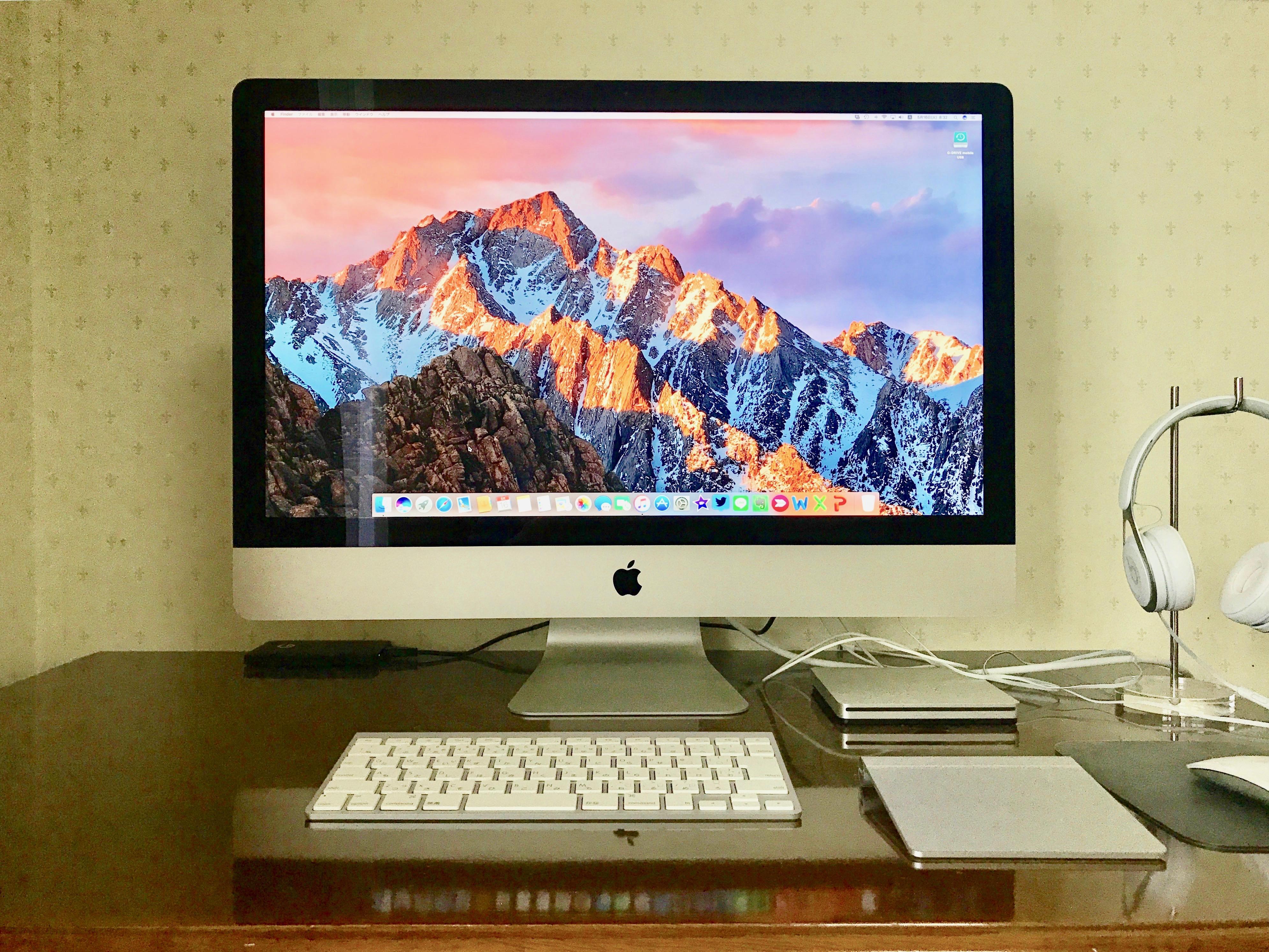 【さらばiMac】 MacBook(2016)をメインPCにしてみた!
