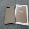 iPhone 8 Plus 純正レザーケースを購入しました!