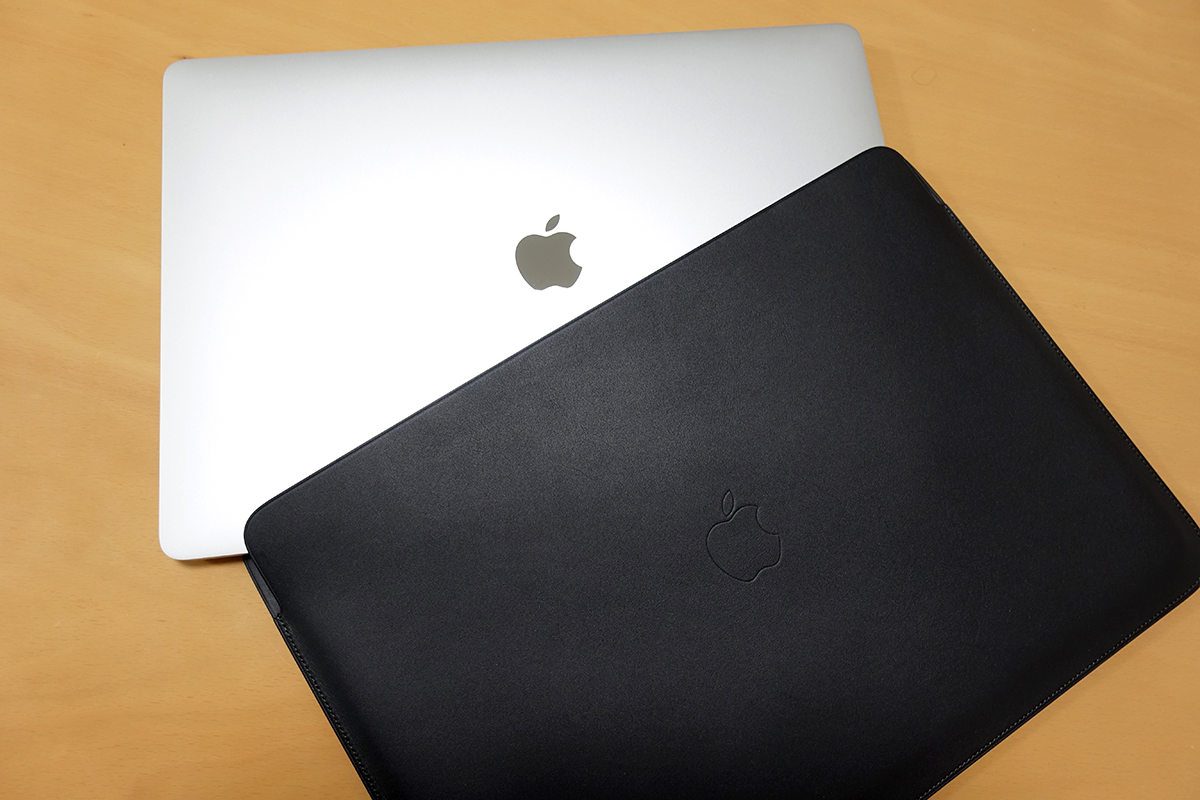 冬の大出費 vol.3 MacBook Pro 16インチ 純正レザースリーブ