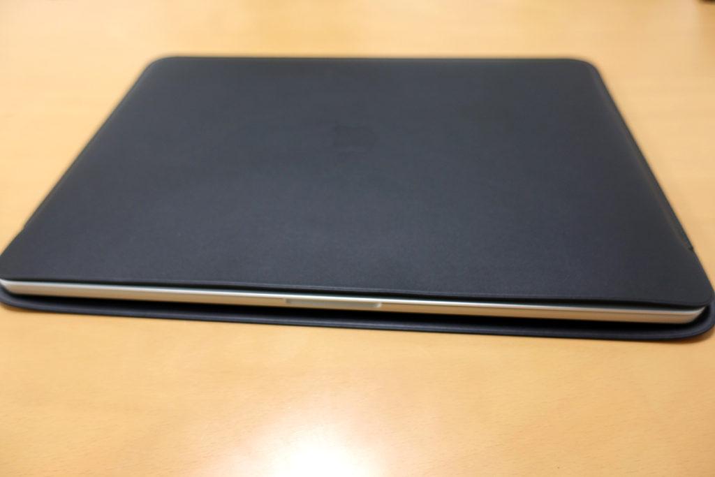 MacBook Pro 16インチ 純正レザースリーブ