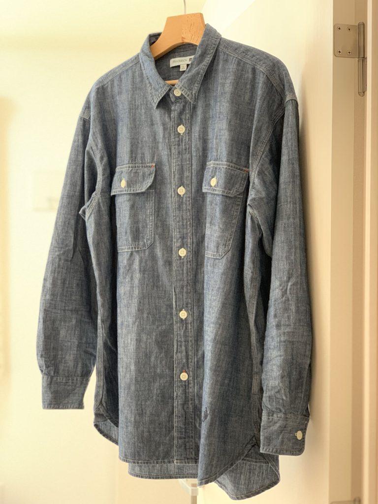 初夏コーデで使える! ユニクロ and JWアンダーソンのシャンブレーシャツをレビュー。