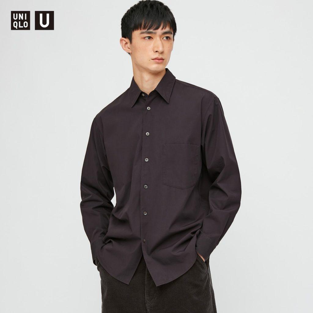 ブロードシャツ(長袖)|ユニクロU 2020秋冬コレクション発売直前! 管理人が気になっているものはどれ?