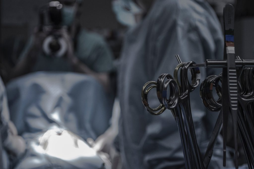 部分切除術と縫合術